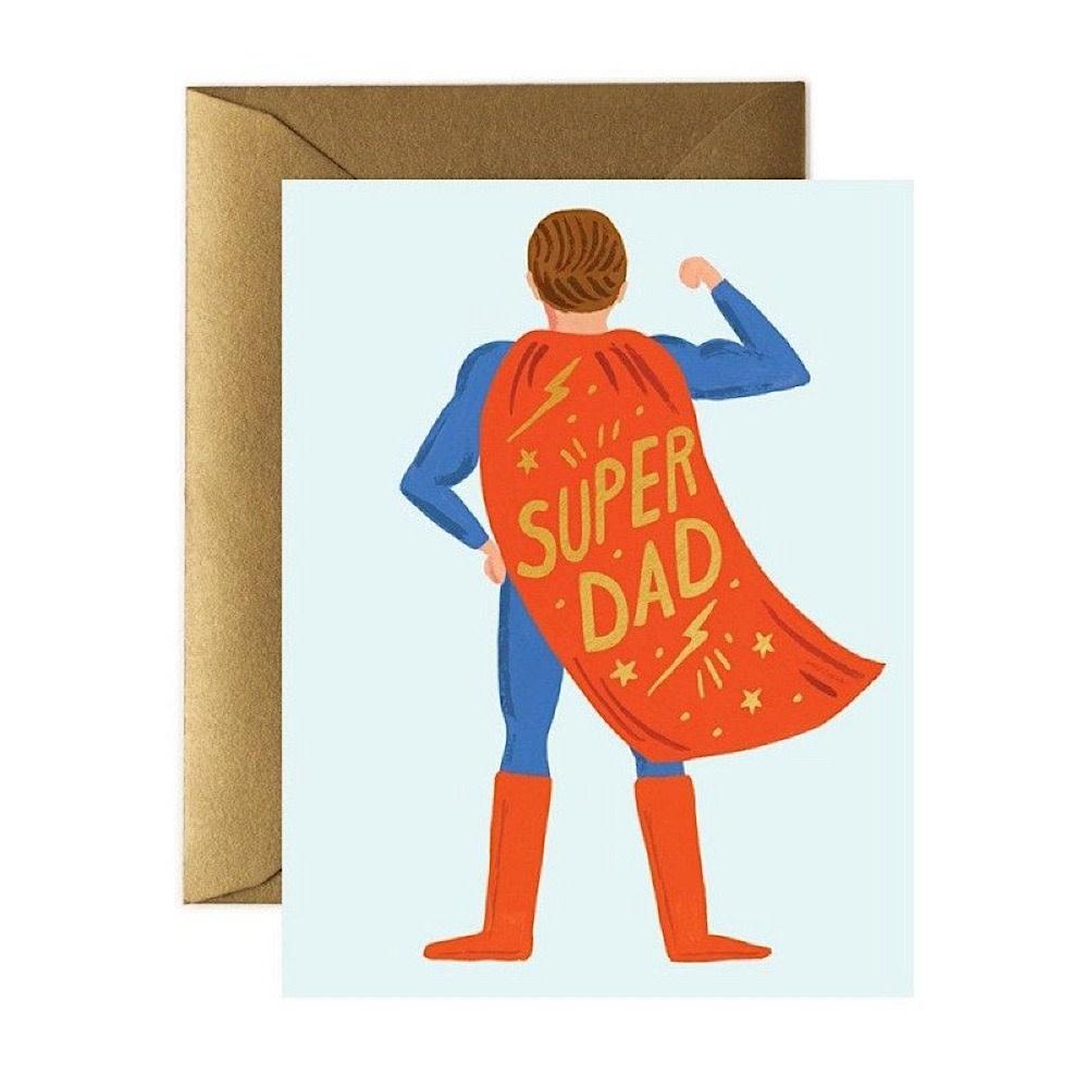 Rifle Paper Co. Card - Super Dad