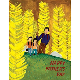 Small Adventure Small Adventure - Father's Day Hike Card