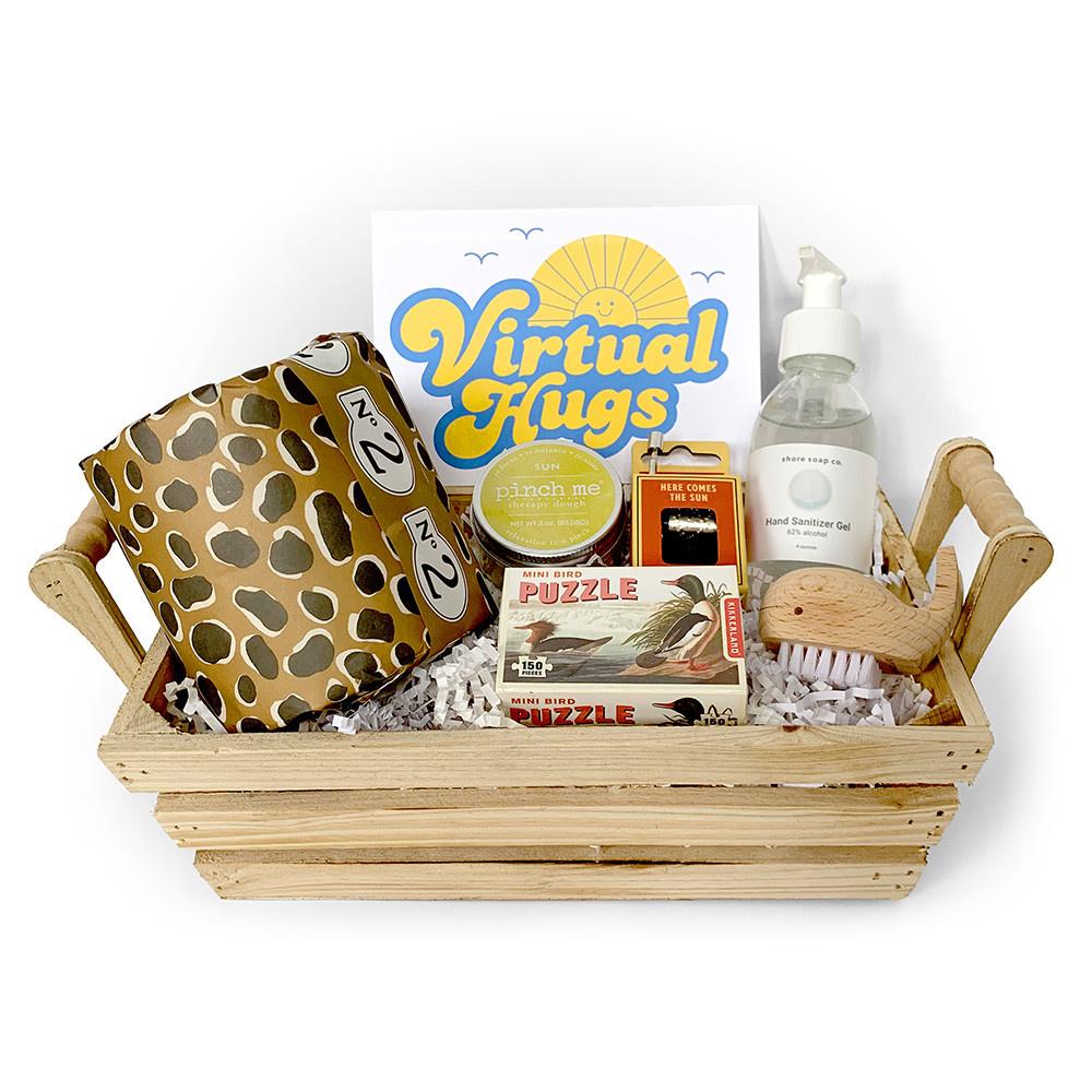 Daytrip Society Gift Basket - Virtual Hugs Kit