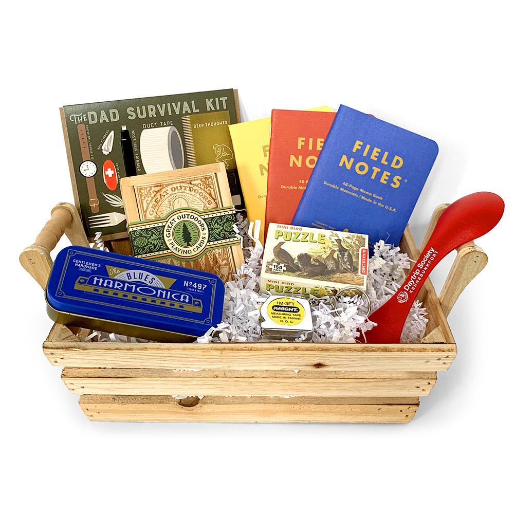 Daytrip Society Gift Basket - Dad Survival Kit