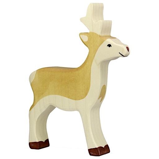 Holztiger Holztiger Wooden Roebuck Deer