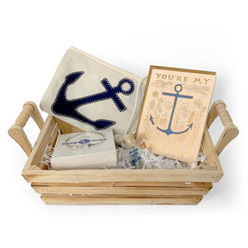 Daytrip Society Gift Basket - You Are My Anchor
