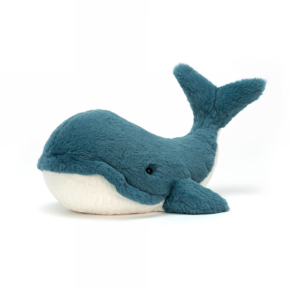 Jellycat Wally Whale - Small - 8 Inches