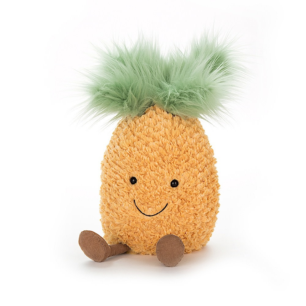 Jellycat Amuseable Pineapple - Small - 8 Inches