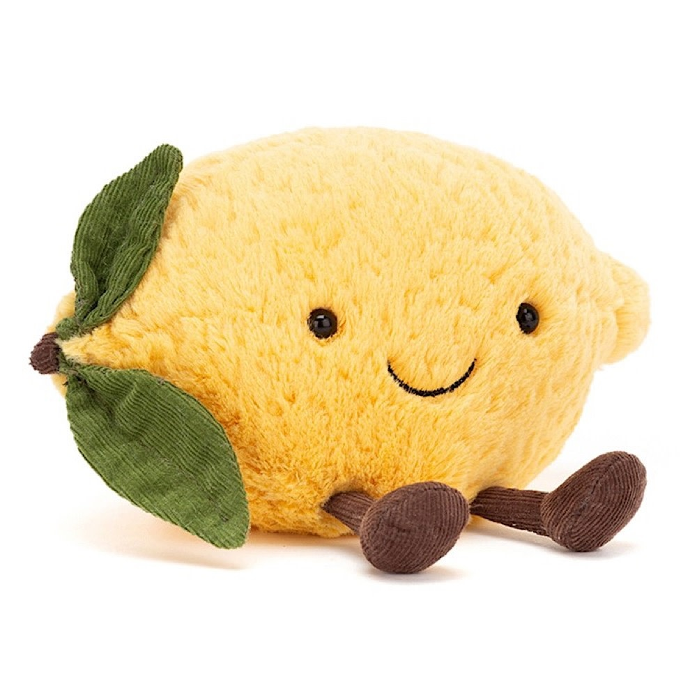 Jellycat Amuseable Lemon - Small 5 Inches