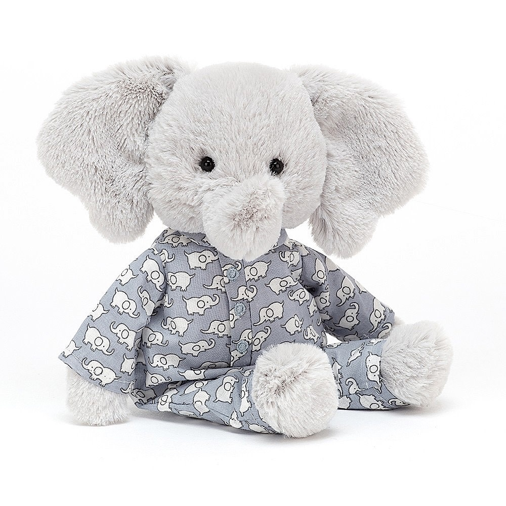 Jellycat Bedtime Elephant - Small - 9 Inches