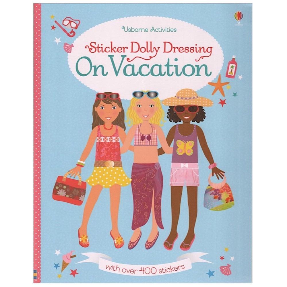 Usborne Sticker Dolly Dressing On Vacation