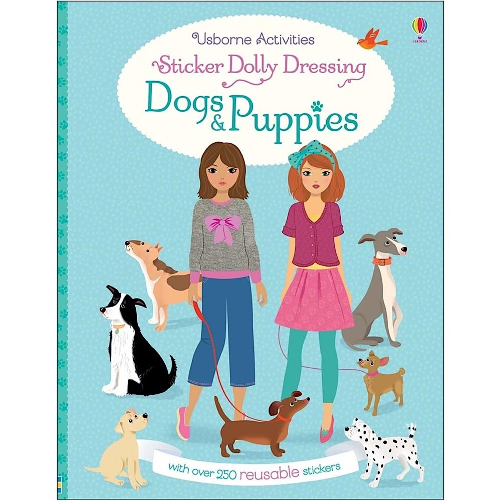 Usborne Sticker Dolly Dressing - Dogs & Puppies