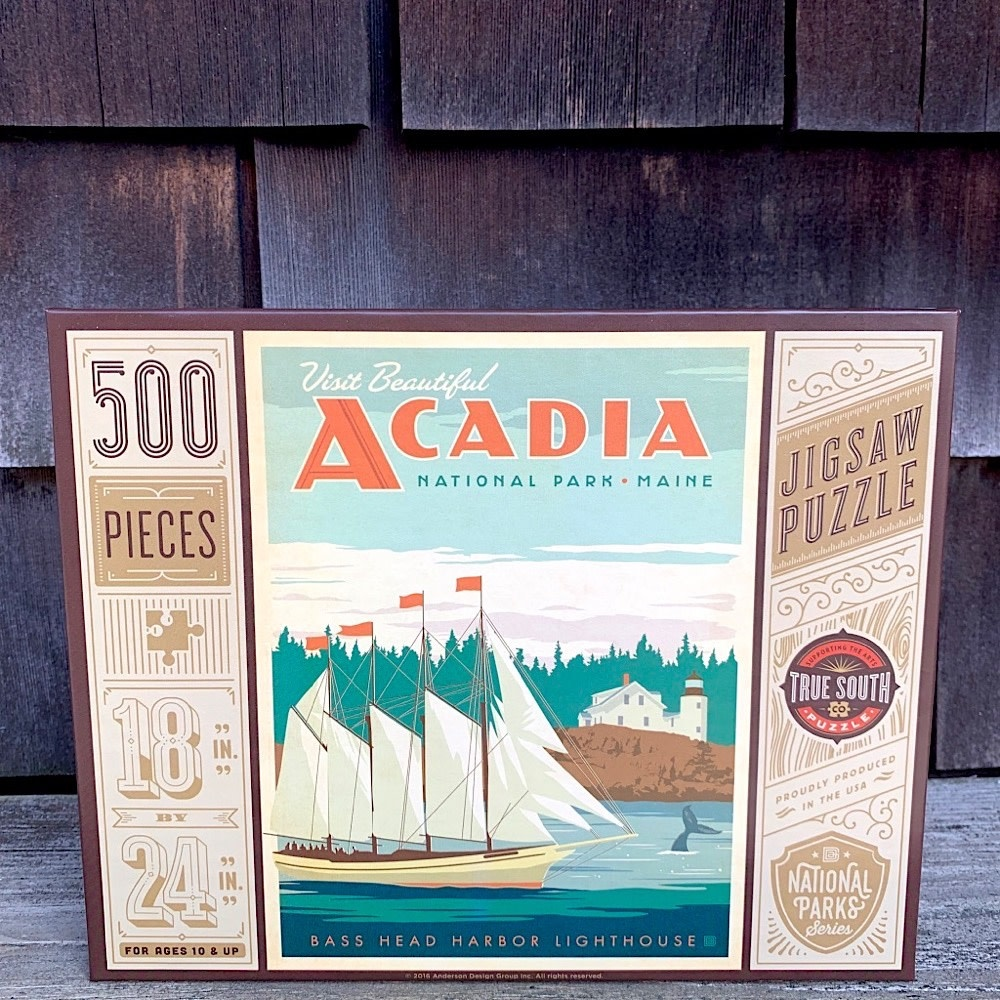True South Puzzle Acadia - 500 Pieces