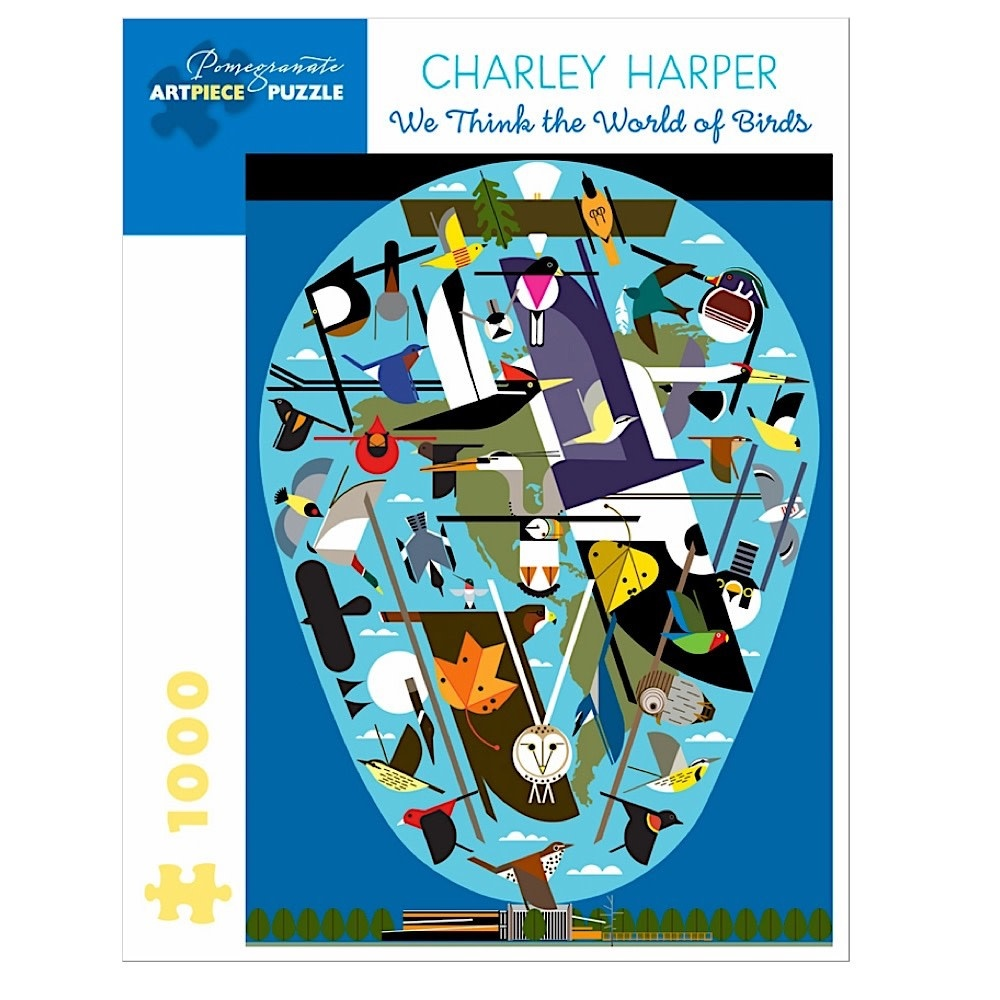 Charley Harper - The World of Birds Jigsaw Puzzle - 1000 Pieces