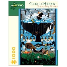 Pomegranate Charley Harper - Glacier Bay Alaska Jigsaw Puzzle - 1000 Pieces