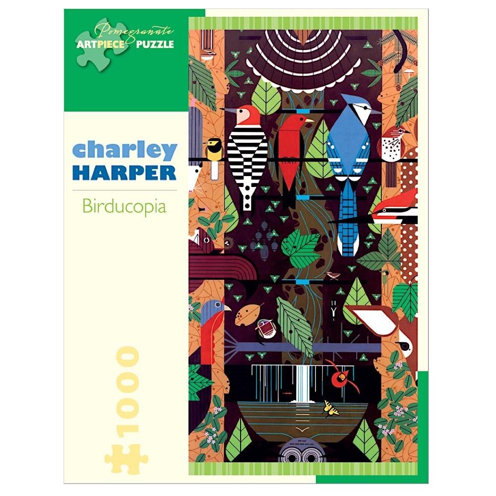 Charley Harper - Birducopia Jigsaw Puzzle - 1000 Pieces