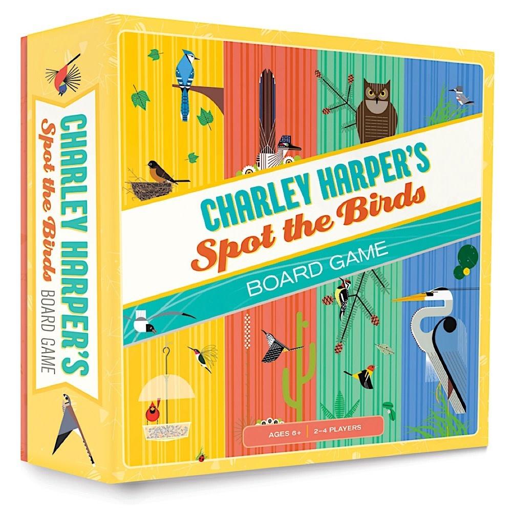 Charley Harper's Spot The Birds Board Game