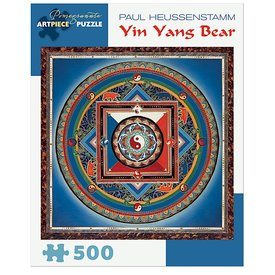 Pomegranate Paul Heussenstamm - Yin Yang Bear Jigsaw Puzzle - 500 Pieces
