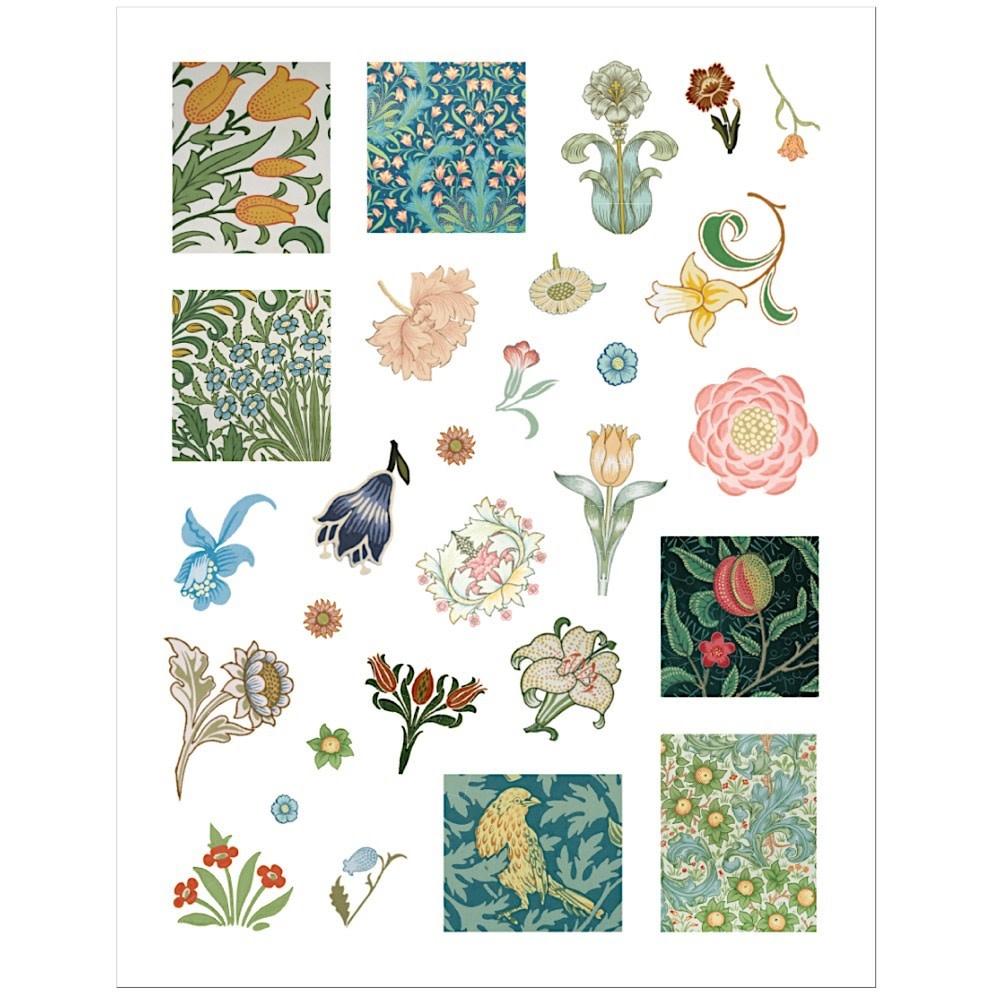 William Morris Sticker Book