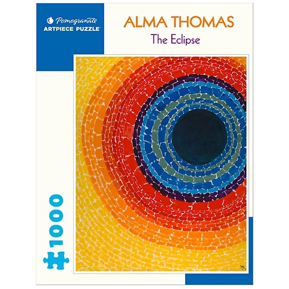 Pomegranate Alma Thomas - The Eclipse Jigsaw Puzzle - 1000 Pieces