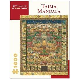Pomegranate Taima Mandala Jigsaw Puzzle - 1000 Pieces