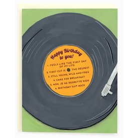 Made In Brockton Village Made In Brockton Village Card - Birthday Vinyl