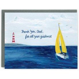 Made In Brockton Village Made In Brockton Village Card - Dad Sailing