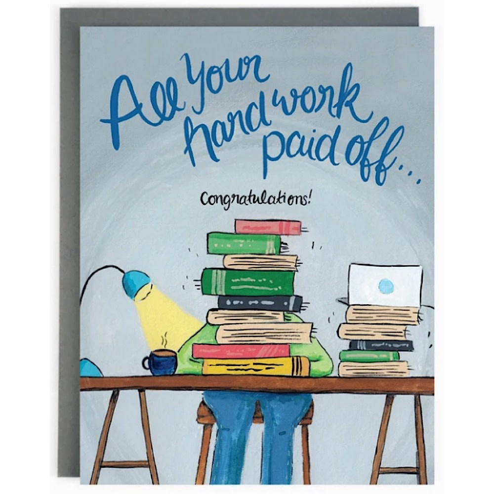 The Paperhood Card - Graduation Study