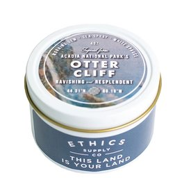 Ethics Supply Co. Ethics Supply Co. Travel Candle - National Park - Acadia's Otter Cliff - 3.8oz