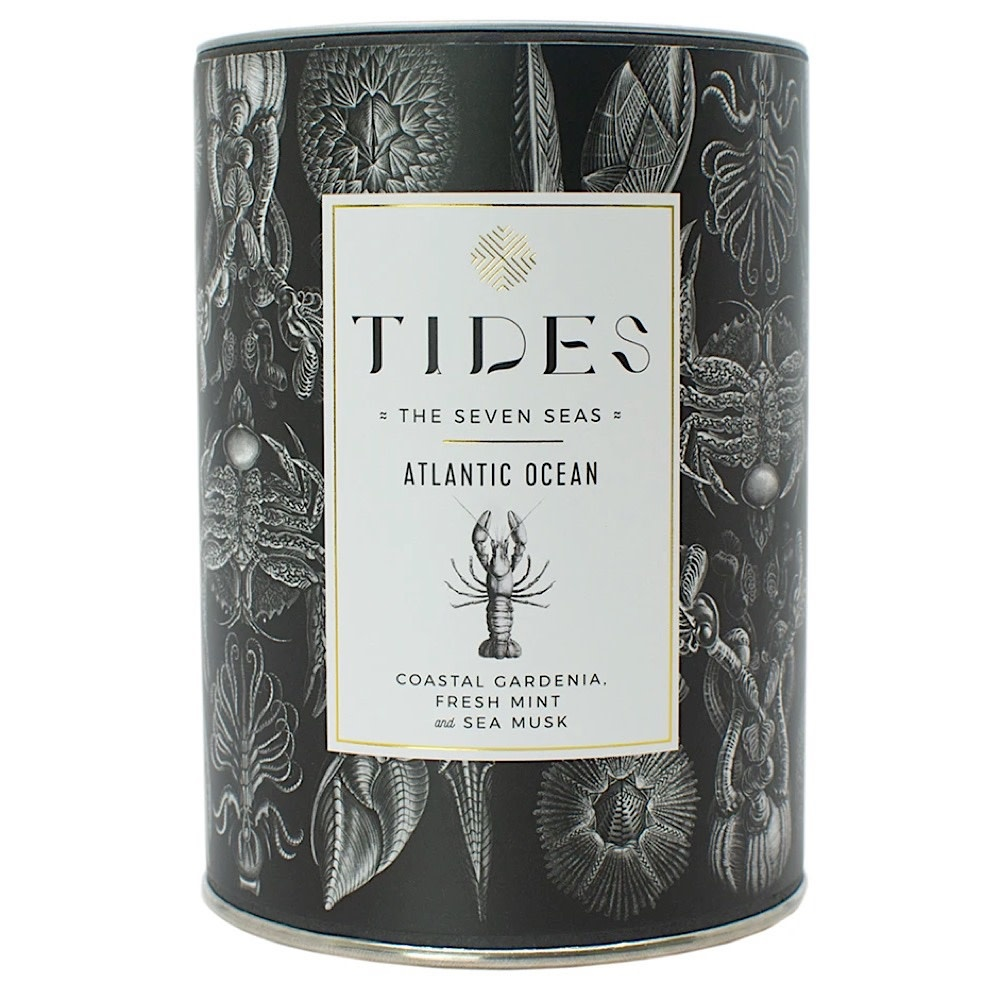 Ethics Supply Co. Candle - TIDES - Seven Seas - Atlantic Ocean - 11oz