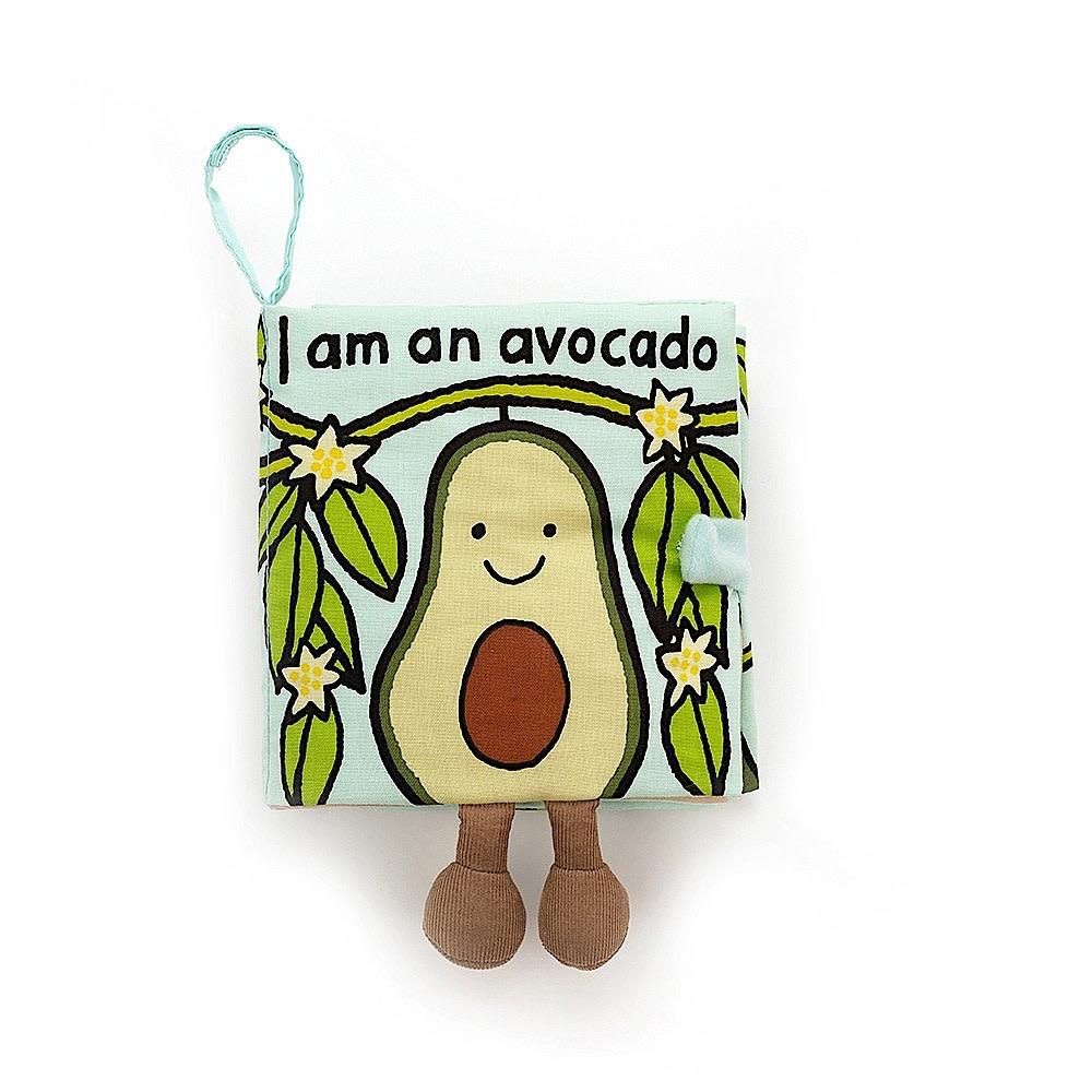 Jellycat Jellycat I Am An Avocado Book