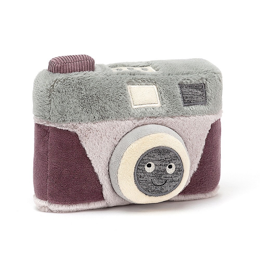 Jellycat Wiggedy Camera - 7 Inches
