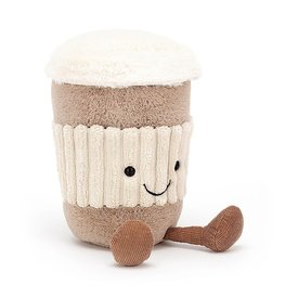 Jellycat Jellycat Amuseable Coffee-To-Go - 7 Inches