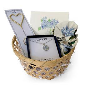 Daytrip Society Gift Basket - Hydrangea