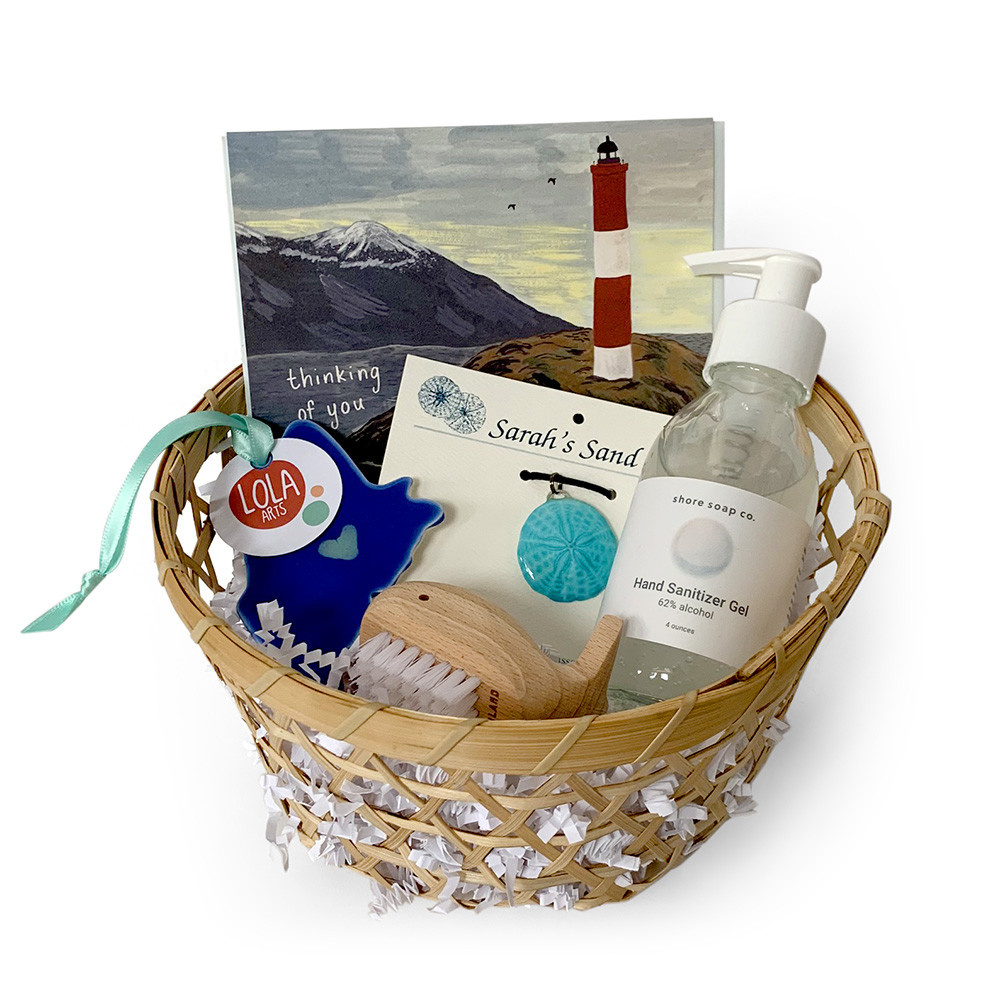 Daytrip Society Gift Basket - Love From Maine - Ocean