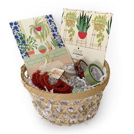 Daytrip Society Gift Basket - Plant Lady