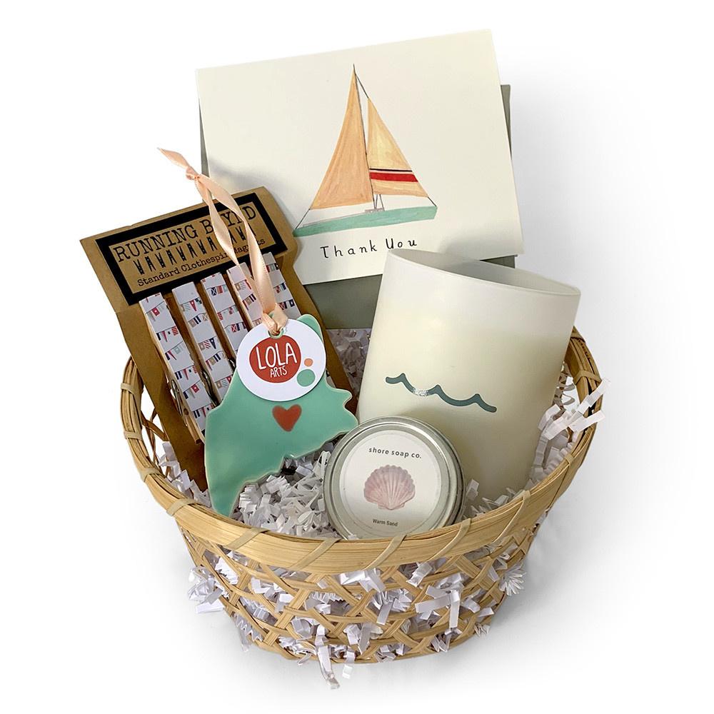 Daytrip Society Gift Basket - Sail Away Thank You