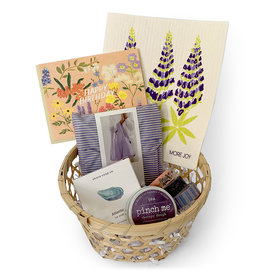 Daytrip Society Gift Basket - Lupine Lady's Birthday