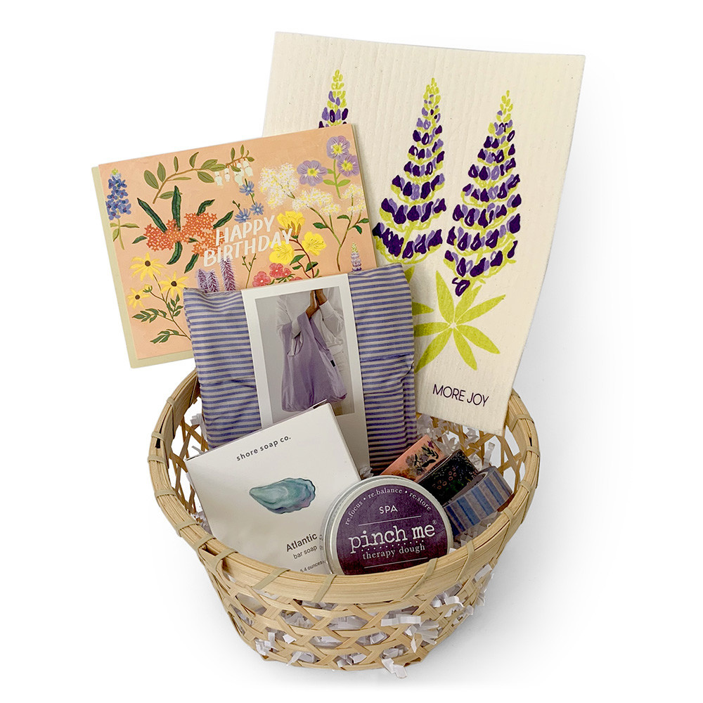 Gift Basket - Lupine Lady's Birthday