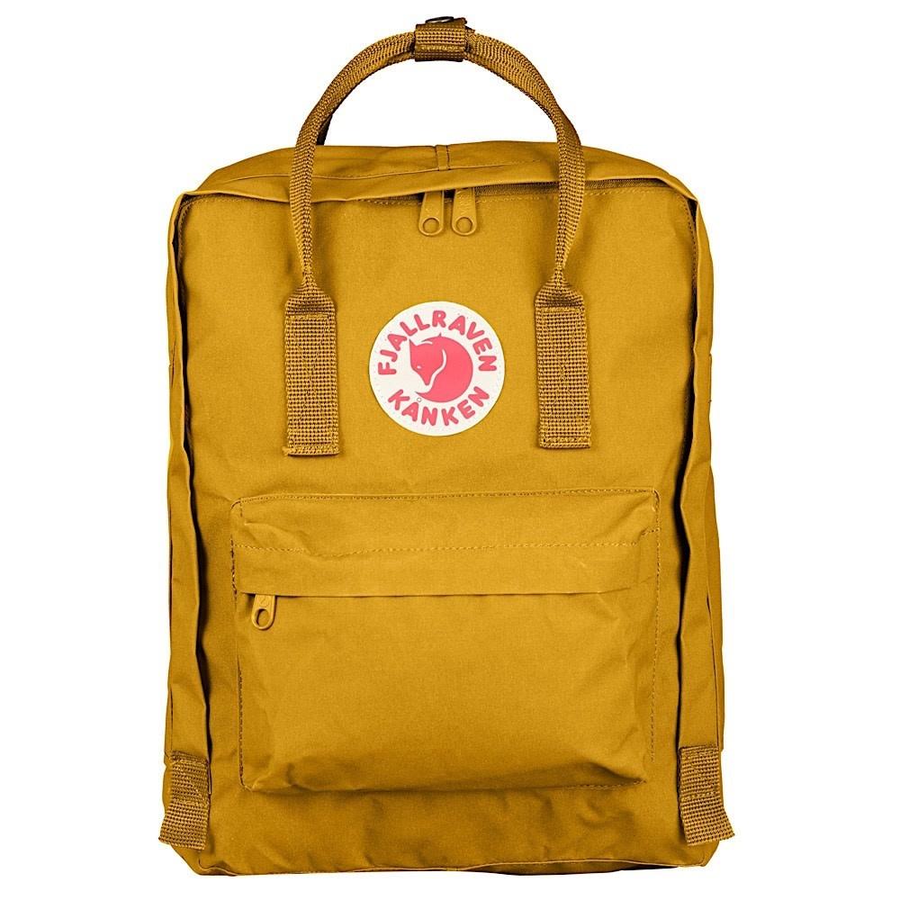 Fjallraven Arctic Fox LLC Fjallraven Kanken Classic Backpack - Ochre