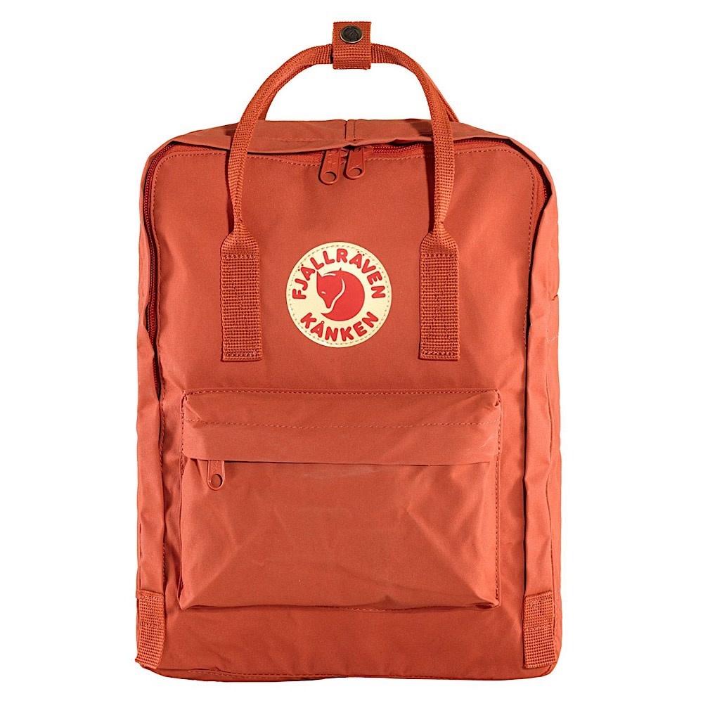 Fjallraven Kanken Classic Backpack - Rowan Red