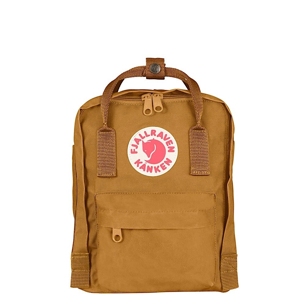 Fjallraven Arctic Fox LLC Fjallraven Kanken Mini Backpack - Acorn