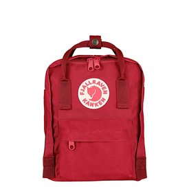 Fjallraven Arctic Fox LLC Fjallraven Kanken Mini Backpack - Deep Red