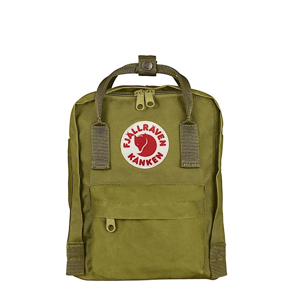 Fjallraven Arctic Fox LLC Fjallraven Kanken Mini Backpack - Guacamole