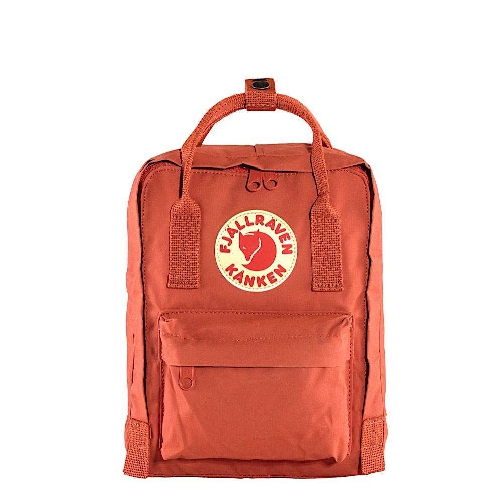 Fjallraven Arctic Fox LLC Fjallraven Kanken Mini Backpack - Rowan Red