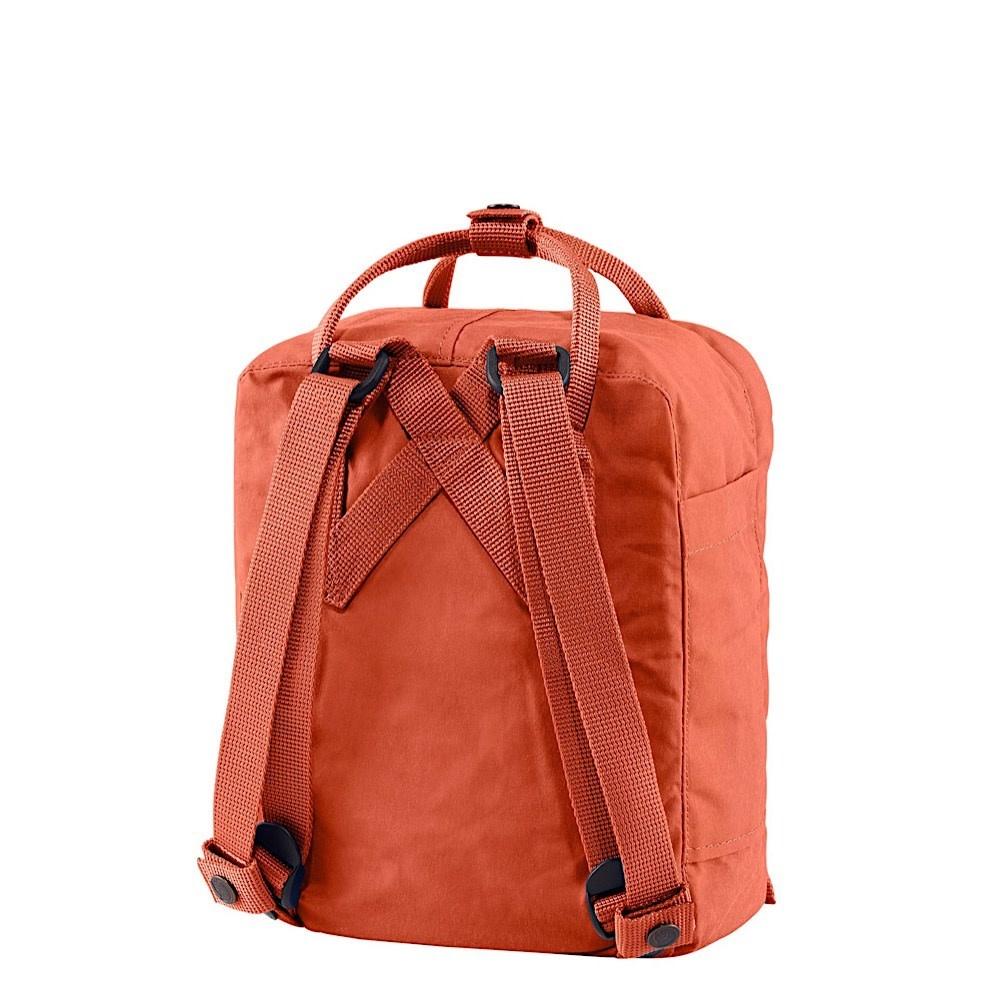 Fjallraven Kanken Mini Backpack - Rowan Red