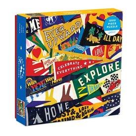 Galison Mudpuppy Celebrate Everything Jigsaw Puzzle - 1000 Pieces