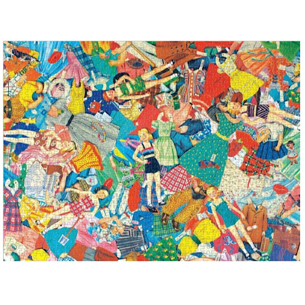 Vintage Paper Dolls Jigsaw Puzzle - 1000 Pieces