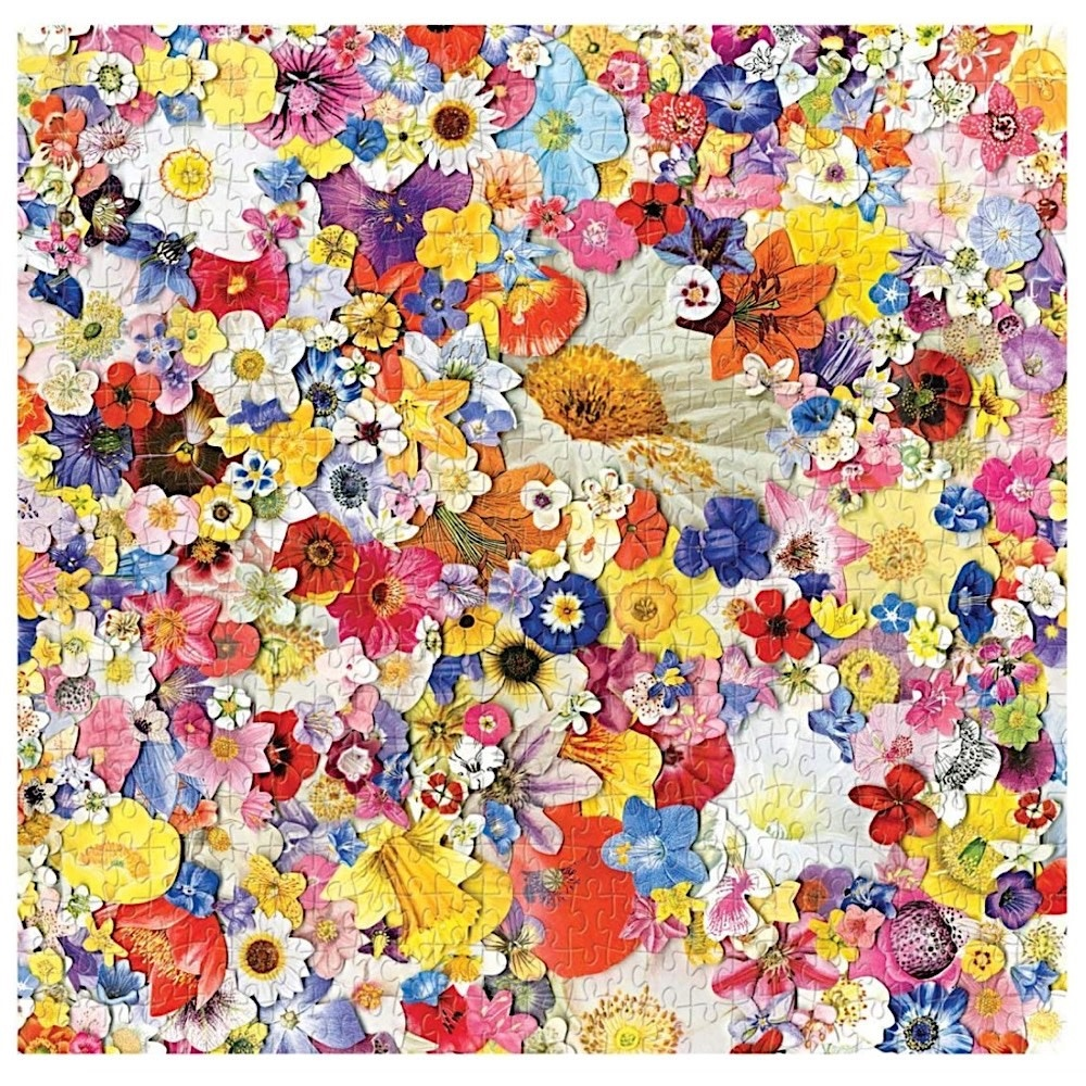Infinite Bloom Jigsaw Puzzle - 500 Pieces