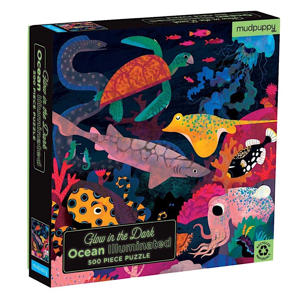Ocean Illuminated Glow in the Dark Jigsaw Puzzle -  500 Piece