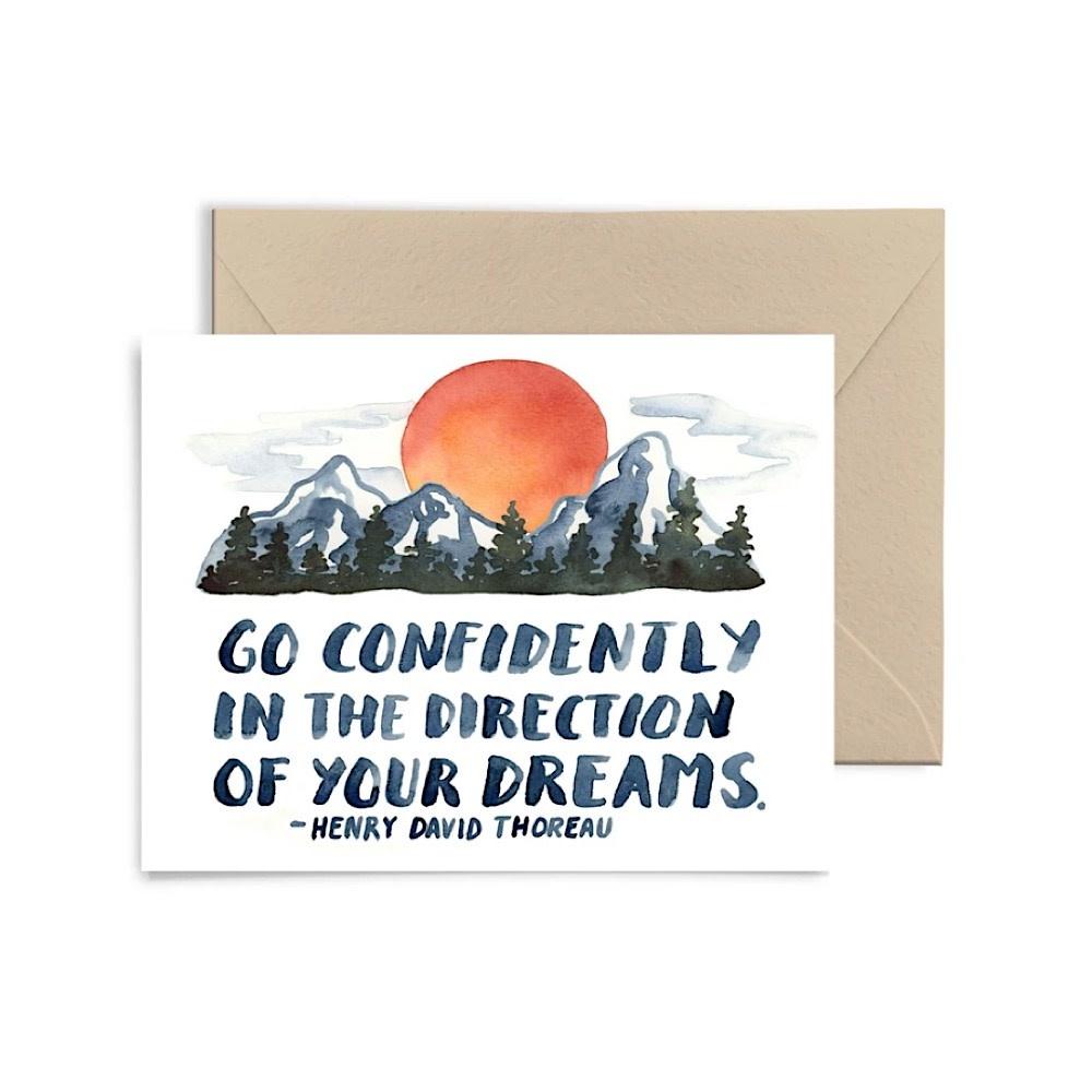 Little Truths Go Confidently Card