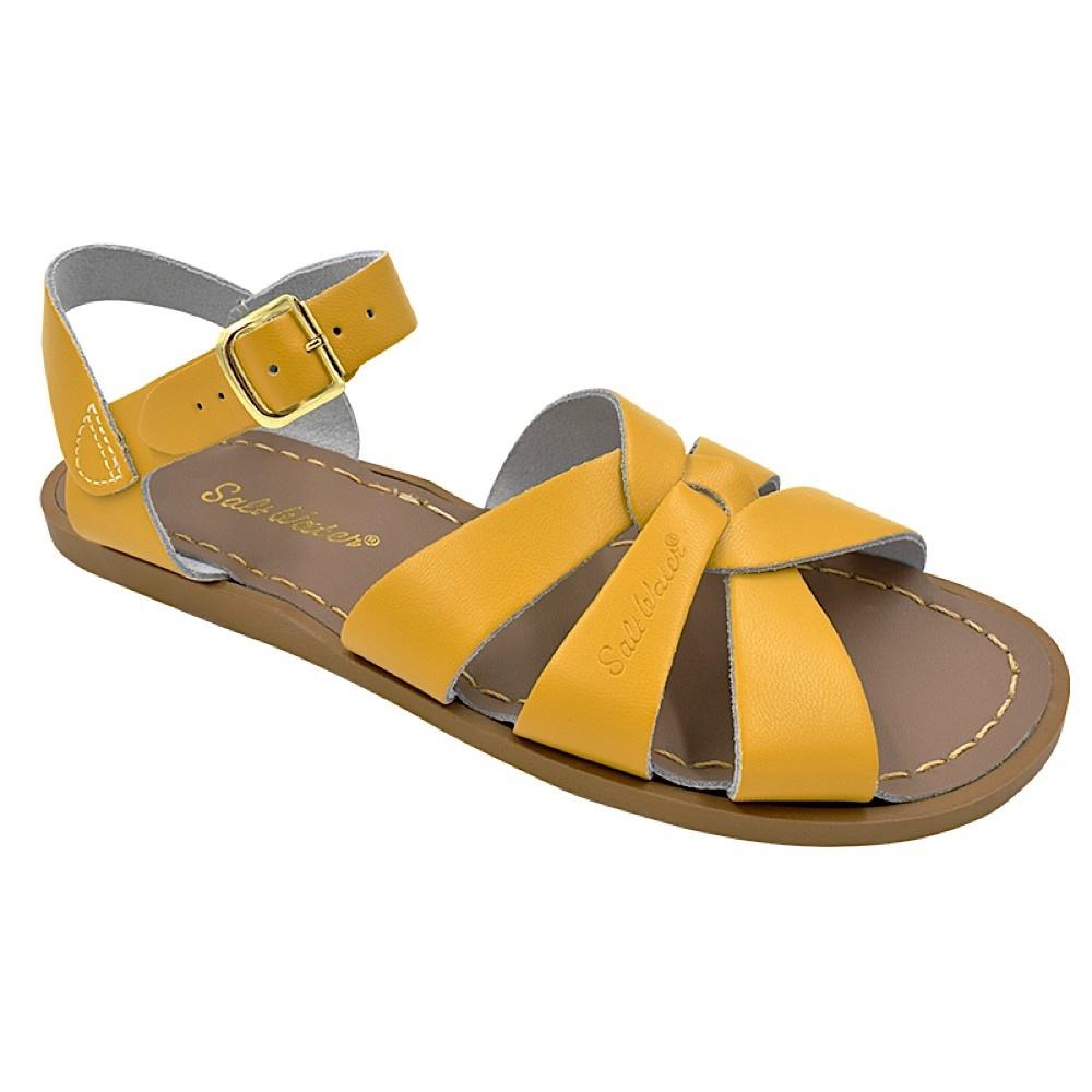 Salt Water Sandals Salt Water Sandals The Original Adult - Mustard