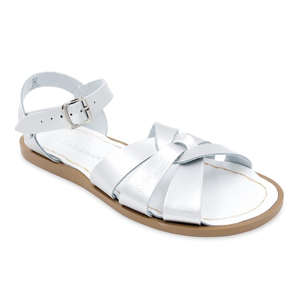 Salt Water Sandals Salt Water Sandals The Original Adult - Silver