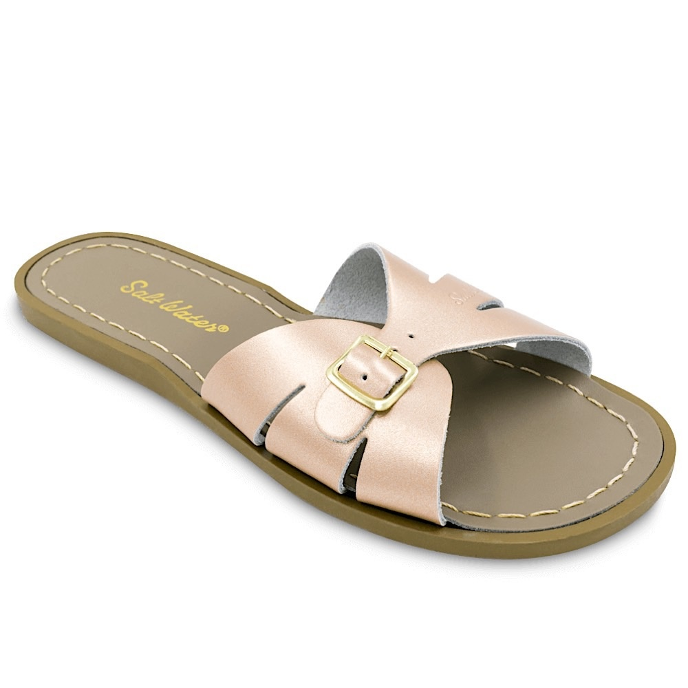Salt Water Sandals Salt Water Sandals Adult Classic Slides - Rose Gold